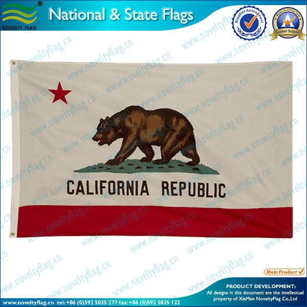 3x5 feet 100% polyester of flying state flag