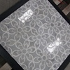 Flower Design Nature Stone Water Jet Marble Mosaic Tiles
