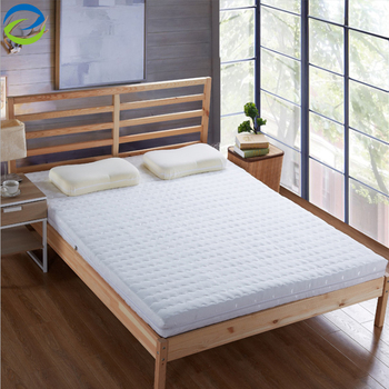 Nature latex mattress with bamboo cover ventilated design for different need of crowd