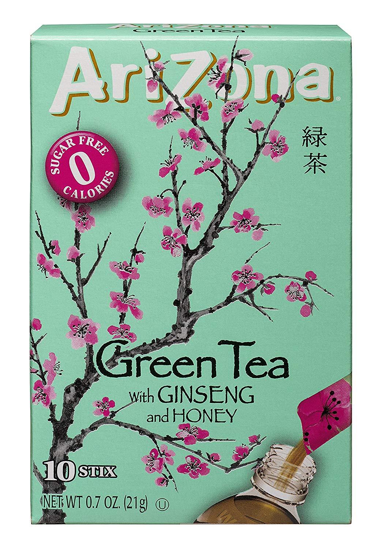 Arizona Sugar-Free Green Iced Tea Stix, 0.7 Ounce (Pack of 12)