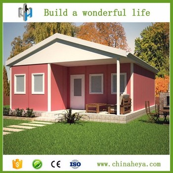 Prefabricated Small Portable A Frame Cabin Kits