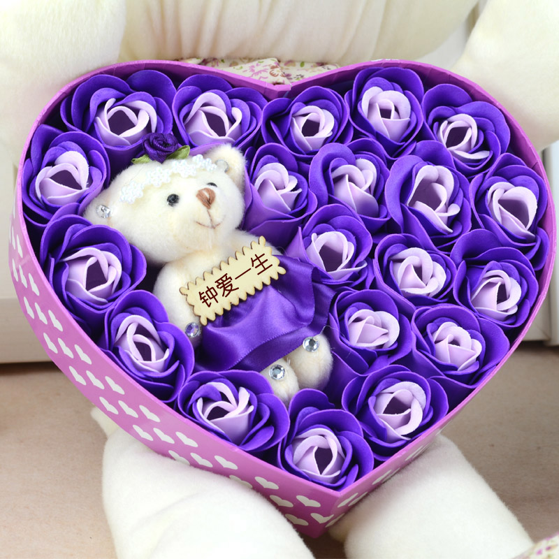 valentine day gift novelty iotion birthday gift girls male girlfriend gifts romantic 23 pieces roses gifts & valentines day gift ideas for girls. 1 youre my favourite card 2 ...