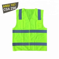 Hot sell safety reflective tape hi vis polyester vest