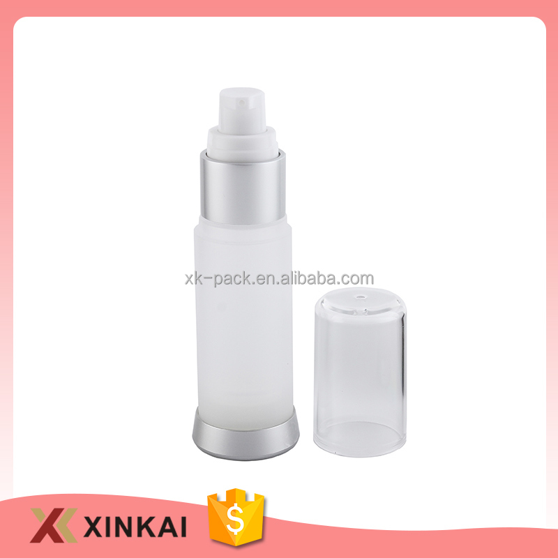 50 ml airless acrylic pump bottle plastic airless bottles for cosmetics