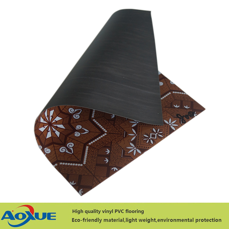 2018 Manufacturer low price linoleum pvc flooring