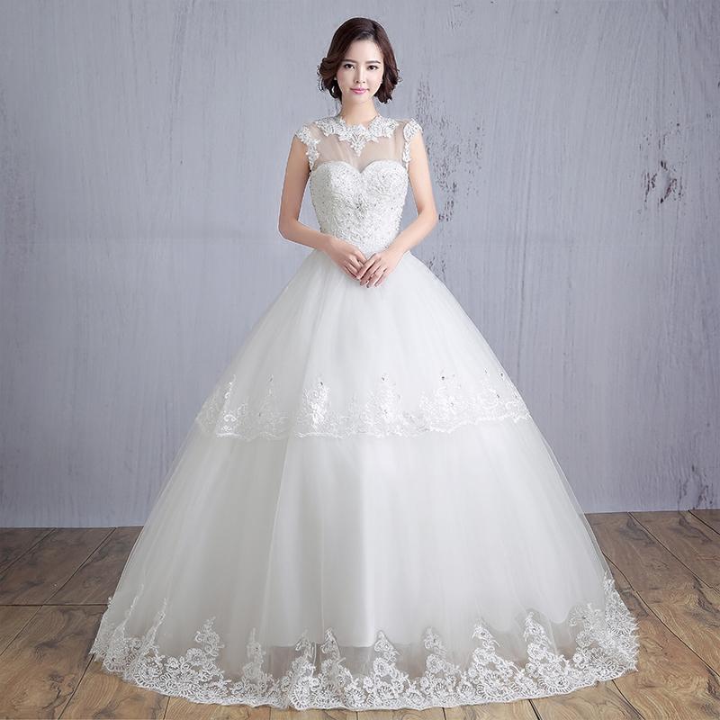 LC509 2016 Summer Bride Wedding Dress New Fashion Lace