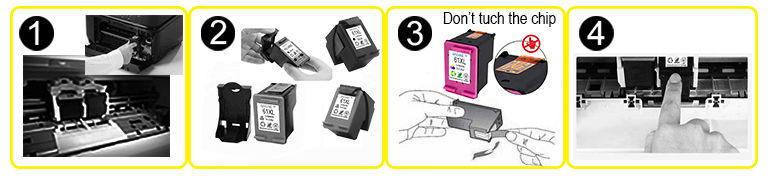 Hot Sale Baisine High Yield Ink Cartridge E-9451E-9452 E-9453 E-9454 Inkjet Cartridge E9451 E9452 E9453 E9454 Tintenpatrone