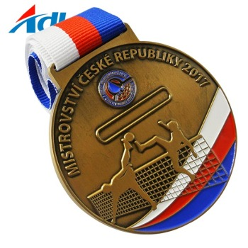 Custom Personalized Cute Cartoon Sports Metal Medal For Kids