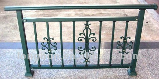 Top selling modern newest iron grill design for balcony