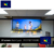Best Price  Cinema Projection Film Screen 3d silver  Fabric Electric Projector Screen Motorized