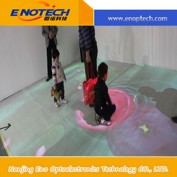 good function 3d interactive floor/ wall projector for game