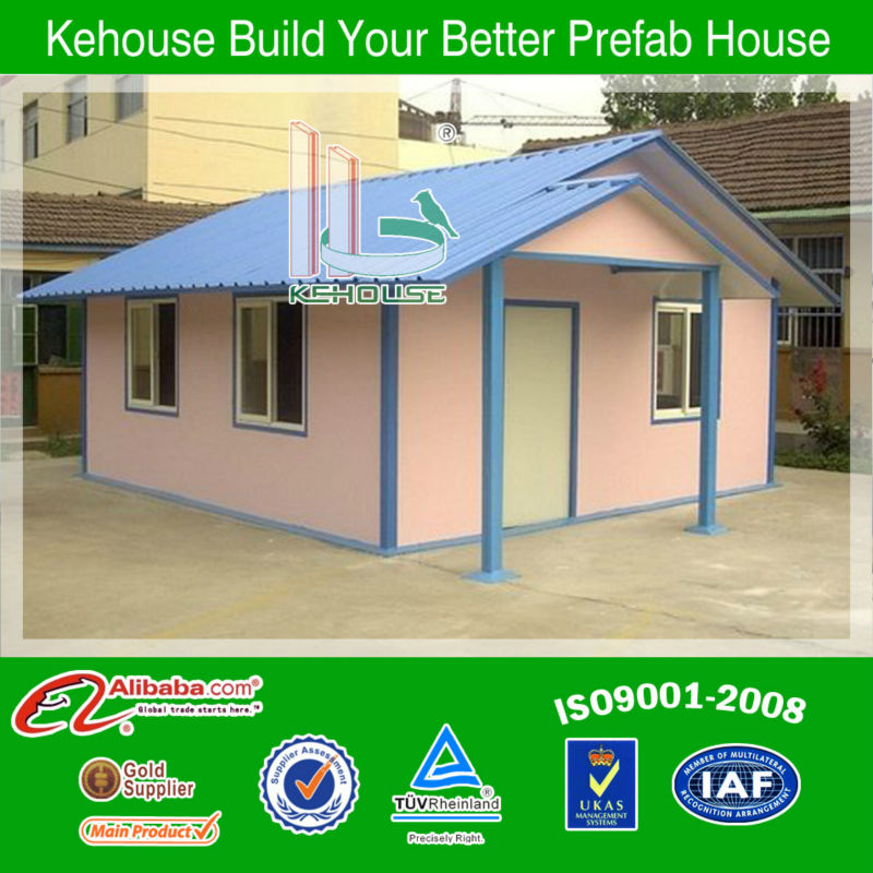 Brief and Natural comfortable sandwich panel house design in China