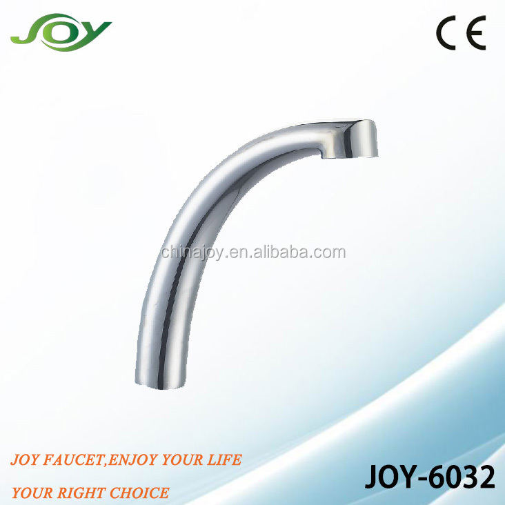 stainless steel faucet spout,sink tap tube,brass basin tap pipe