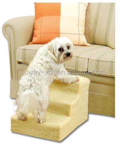 Eco Friendly Plastic Material Foldable Dog Stairs, Dog Staircase