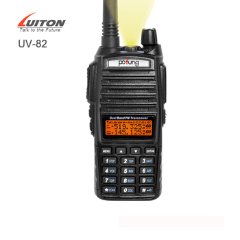 Dual Band VHF UHF Walkie Talkie Baofeng UV 82