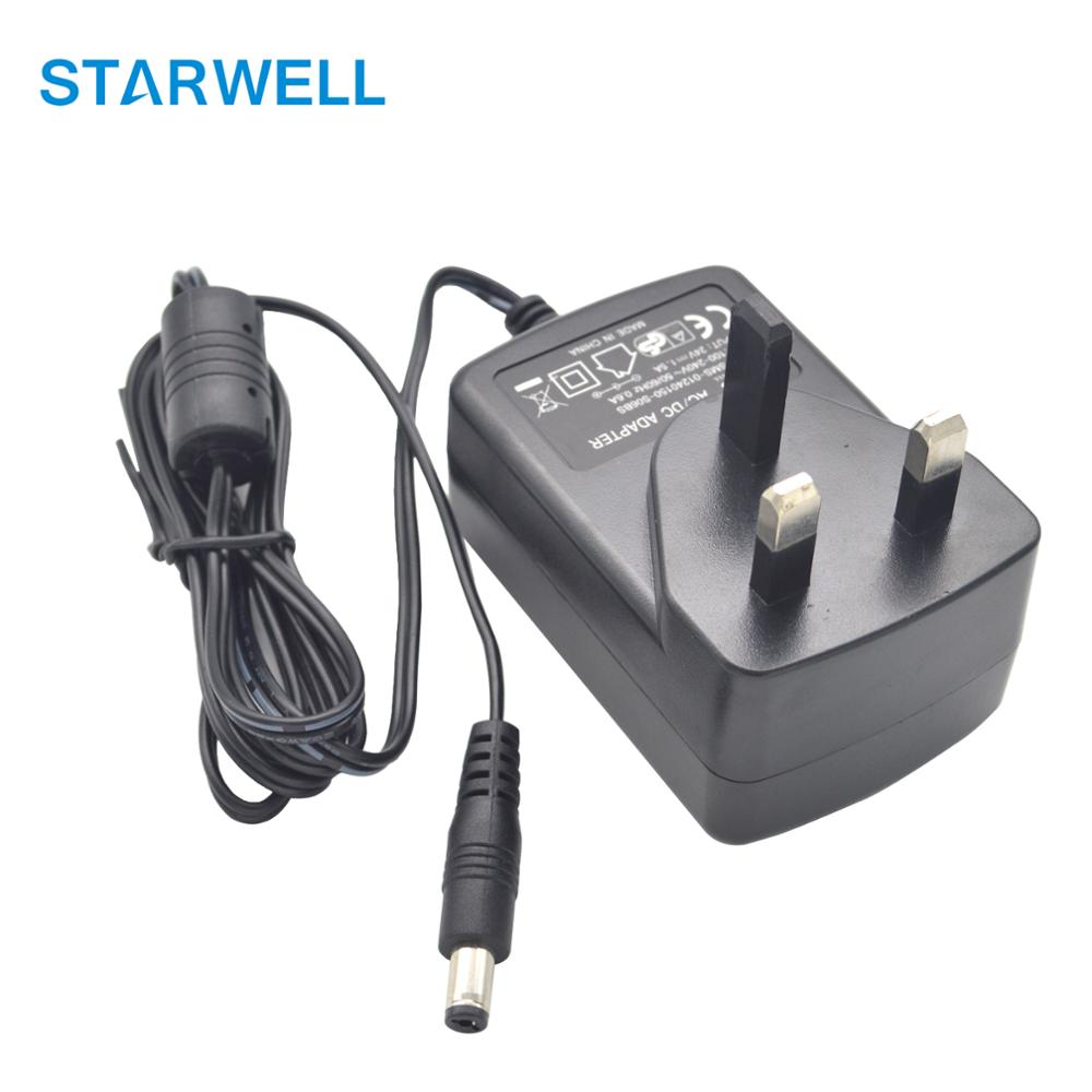 UK BS plug in type 12V 2A wall adapter 24W 2000ma max ac dc power adapter