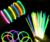 "100 8"" ASSORTED GLOW STICKS BRACELETS NECKLACES PARTY FLUORESCENT NEON COLORS"