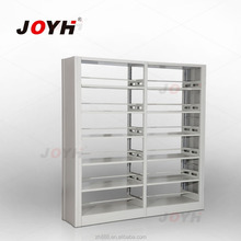 Modern Steel Six-layer Bookshelf Library & School Furniture Popular Design Bookrack