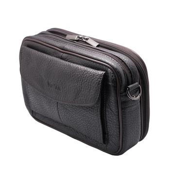 250c311db1 Personal Mens Handbag Brown Crossbody Cowhide Leather Pouch Bag For Men