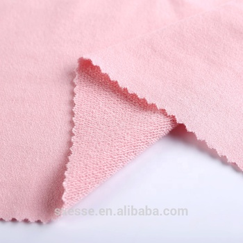 China textile city hoodie rayon french terry cloth knitted fabric wholesale
