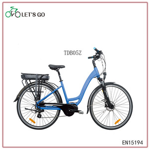 OEM 700C 250W36V mid drive motor city electric bike
