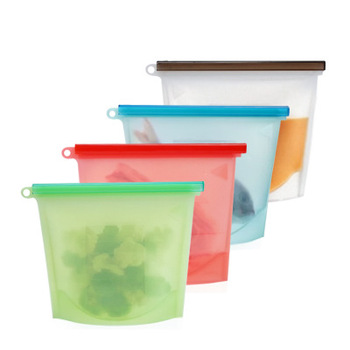 Sealed vacuum food bag frozen food self-sealing bag can be reused