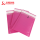Manufacturer customized Co-extruded film bubble envelope pink poly padded courier bubble mailer bag