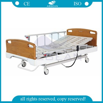 AG-BY106 ISO&CE height adjustment three function hospital bed price