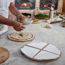Küche Bambus <span class=keywords><strong>Pizza</strong></span> Platte <span class=keywords><strong>holz</strong></span> <span class=keywords><strong>Pizza</strong></span> Peel Portion Keramik Tablett Platter