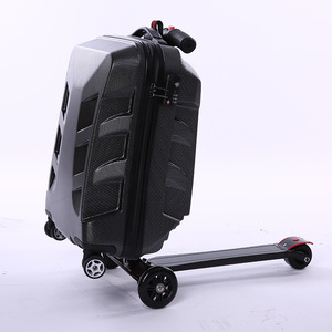 2019 new arrivals Children trolley school bags scooter Backpack Students  Wheels Bags Rolling Backpacks for Kids 620ef34c04e52