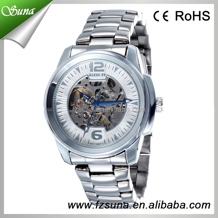 Good Wholesale Price Goer Style Mechanical Best Cheap Automatic Fashion Mens Watches Colors View Mens Watches Goer Watch Product Details From Fuzhou