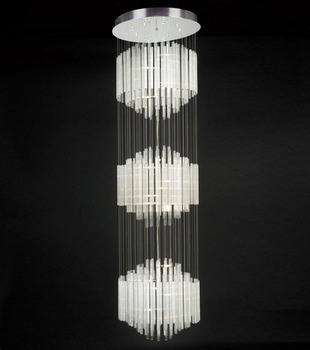 Led Long Drop Gl Modern Pendant Ceiling Hanging Light Fixture Product