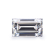 Baguette step cut 7*5mm pure white vvs quality loose gems stone moissanite ring beads