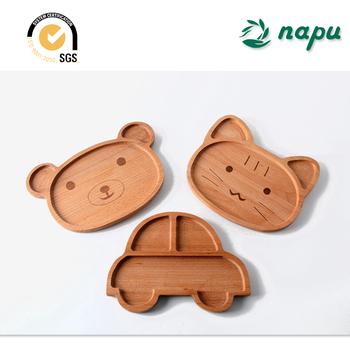 Animal shape kids beech wooden dining plates & Animal Shape Kids Beech Wooden Dining Plates - Buy Serving Plate ...