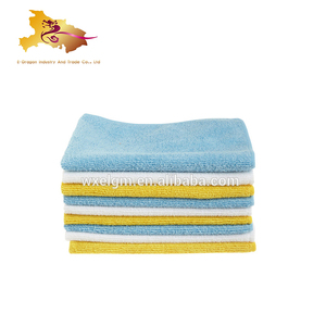 80% polyester and 20% polyamide microfiber cleaning cloth factory