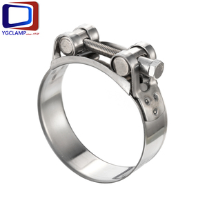 Stainless Steel Unitary Super Power Heavy Duty Hose Pipe Clamp manufacturer