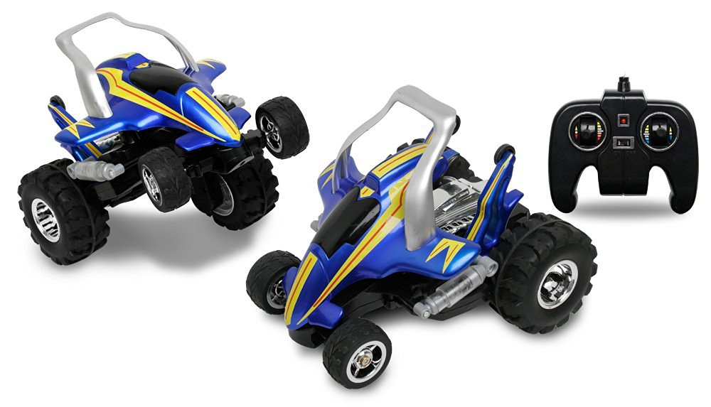 Blue Hat RC Savage Car, Blue