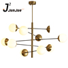 Modern Glass Pendant Light Decorative Hanging Pendant Light Lindsey Astral Agnes Glass Italian Modern Chandelier Light
