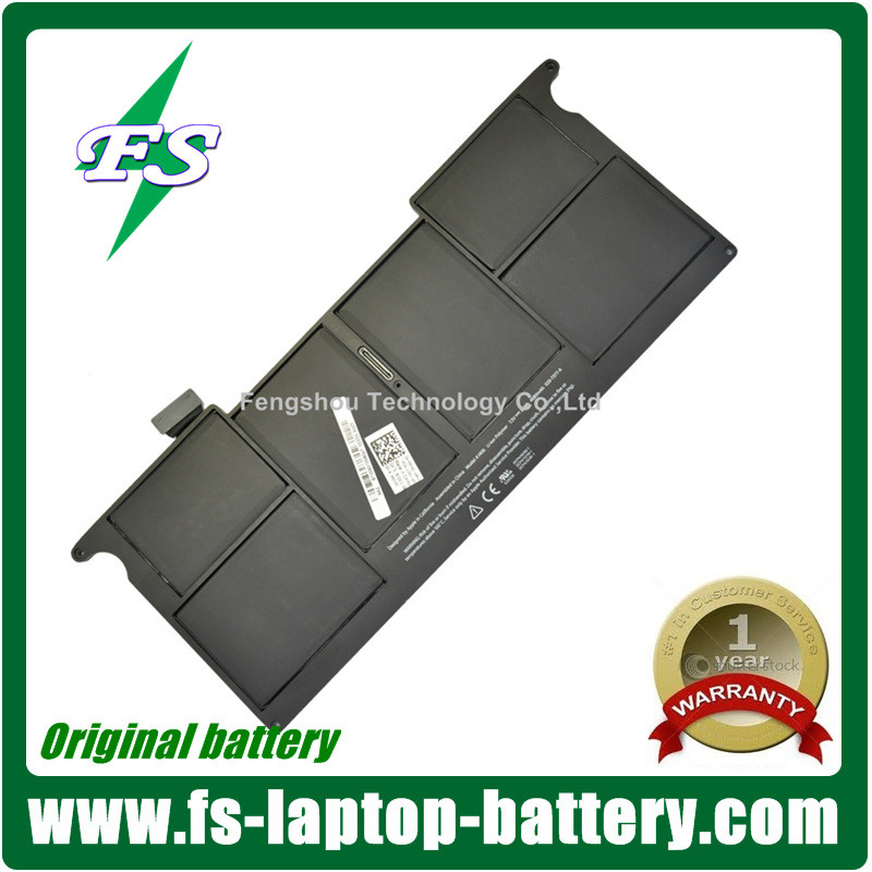 7.3V 35WH A1406 For Macbook battery ,A1495 A1406 A1370 A1465 4-Cell laptop battery for Apple