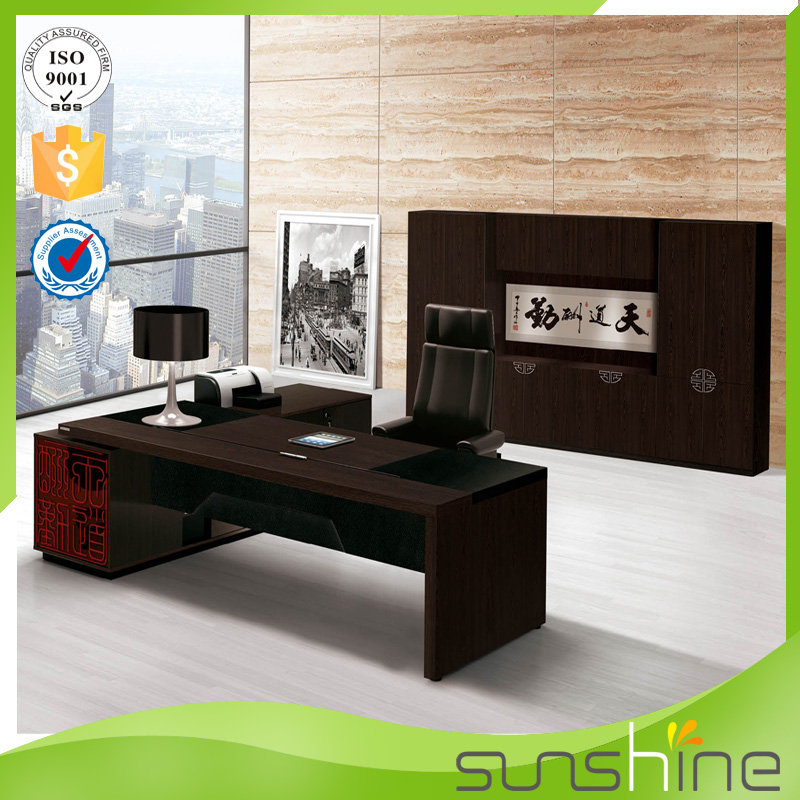 Sunshine Italian Style Furniture Office Desk Table Used Good Life Luxury Modern Wooden Furniture Latest Design From China