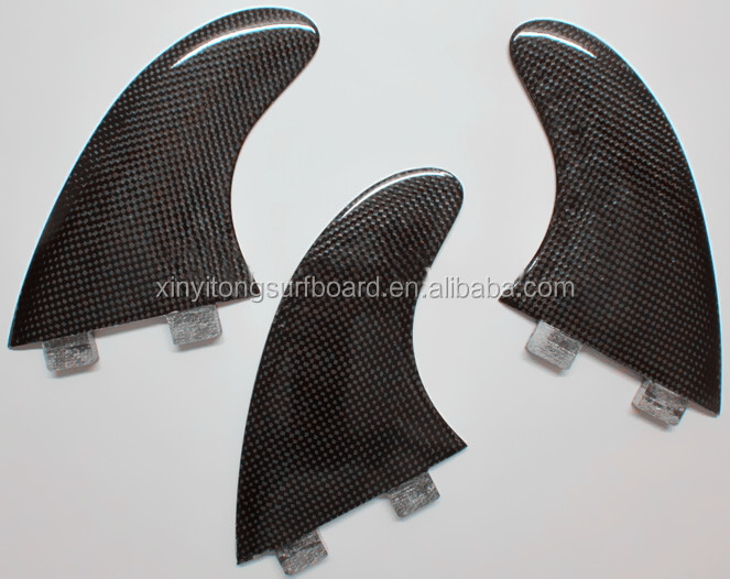 Perfect quality FCS fins with carbon fiber honey comb material for surfing
