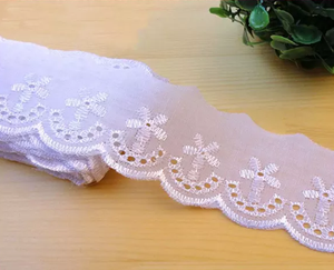 fashion cheap polyester white bridal tc lace trim,colorful trimmings TC lace