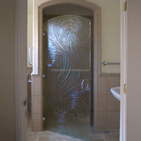 oval interior doors with glass frosted