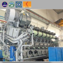 Gas electricity generation power plant 1 mw silent natural gas generator