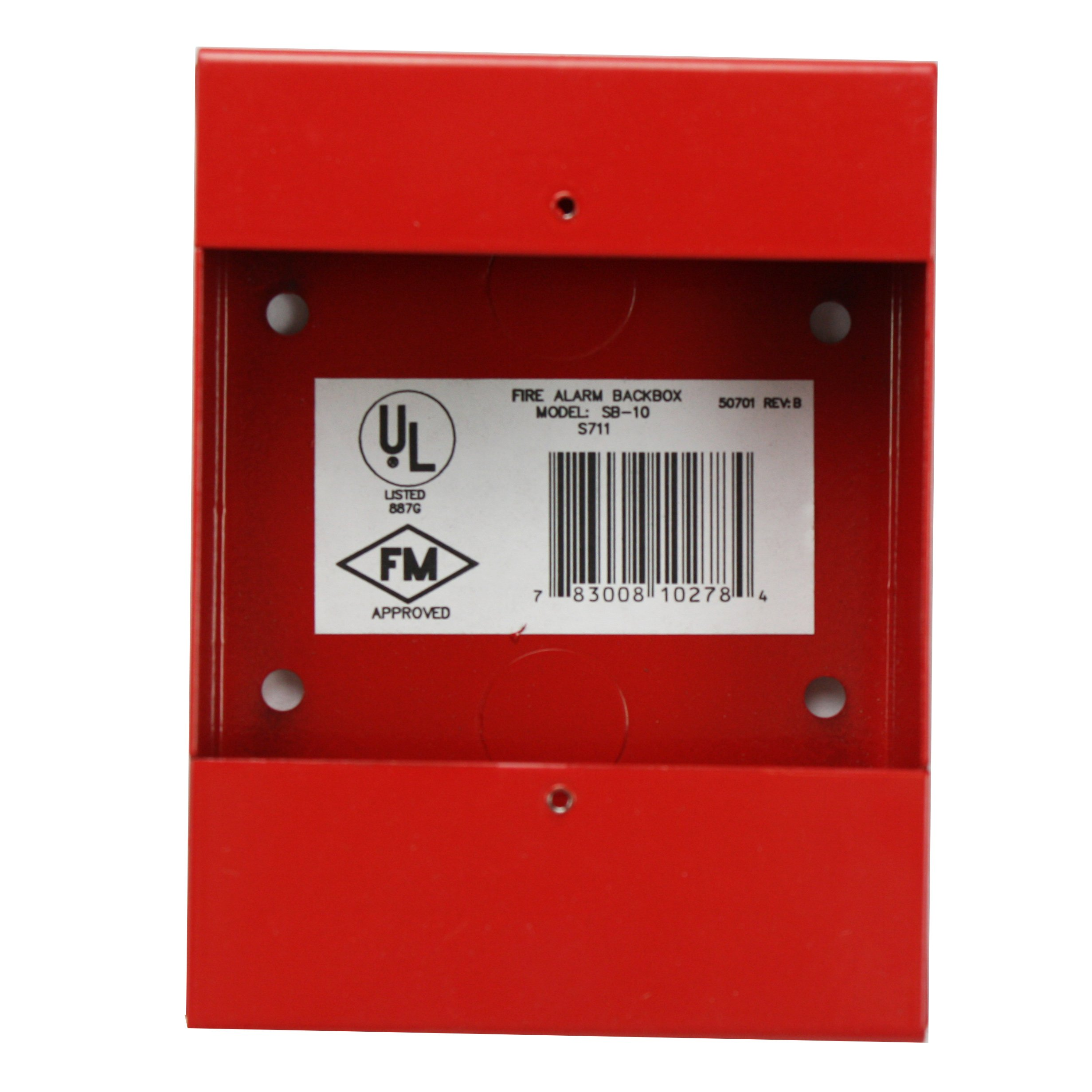 Cheap Fire Detection And Alarms Find Signaling Line Circuit Wiring Manual Firelite Get Quotations Lite Sb 10 Red Alarm Bg 12 Series Metal Surface Mount