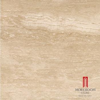 Glasierte Imitation Beige Farbe Travertin Fliesen Marmor Fliesen