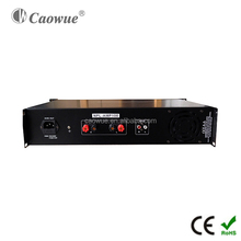 Qualified certification professional audio power mix amplifier