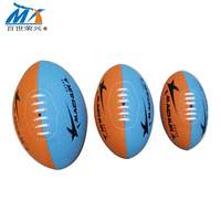 factory direct sale custom logo Offical Sizes colorful american Football exercise rugby ball For promotion