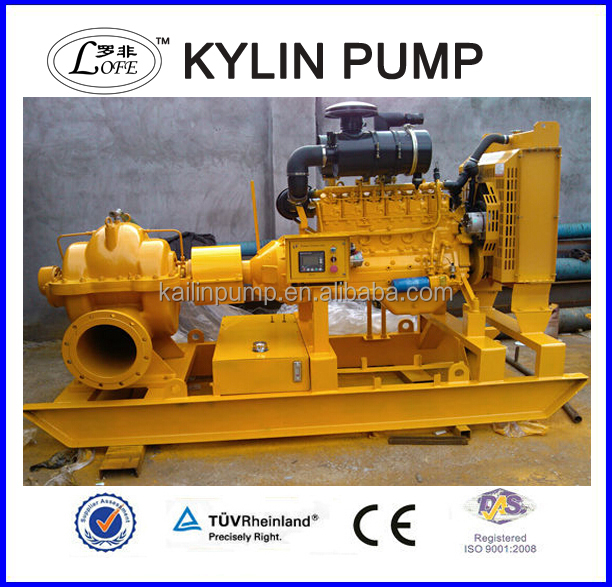 agricultural irrigation diesel water pump farm use single stage diesel water pump