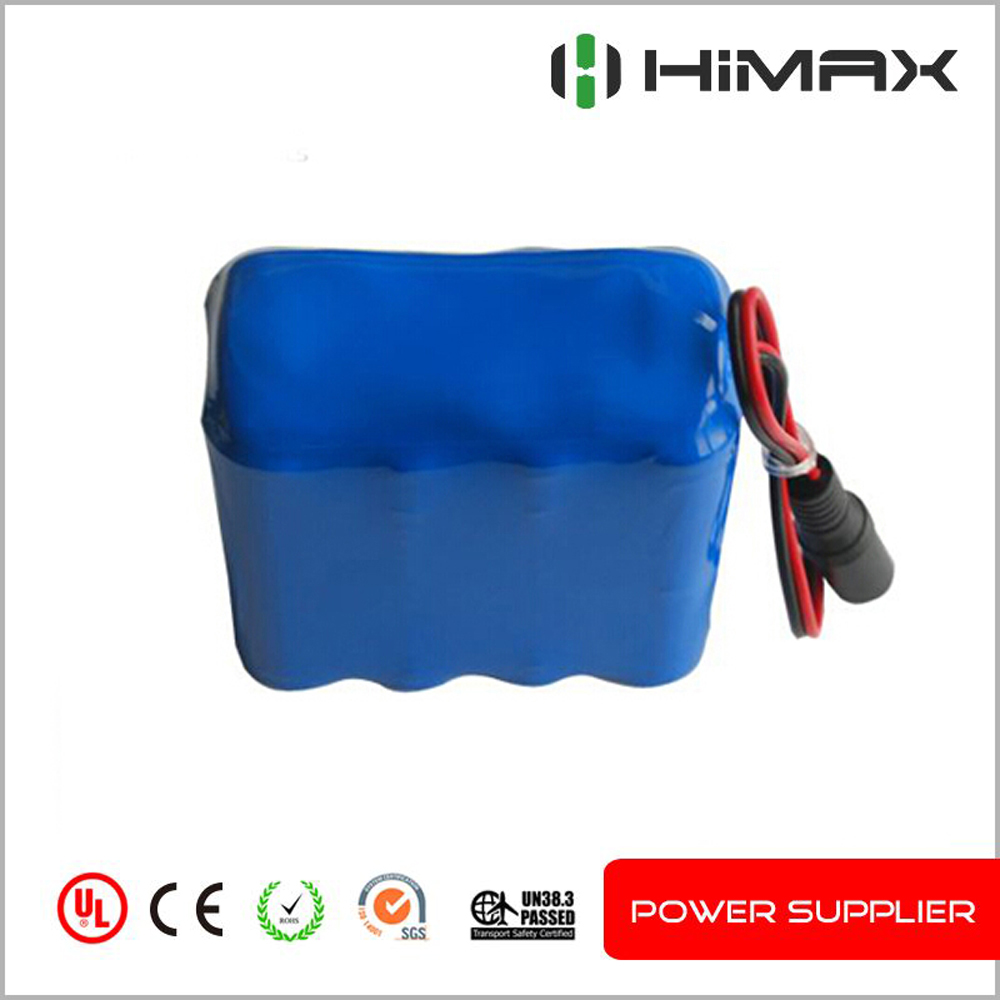 12v lithium ion rechargeable battery pack 5Ah